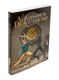 Alabaster Dangermond and the Serpent's Blade Cover | Copyright 2018 Jason VanHorn